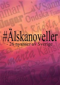 Omslaget till antologin #Älskanoveller