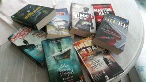 Lästa böcker 2016