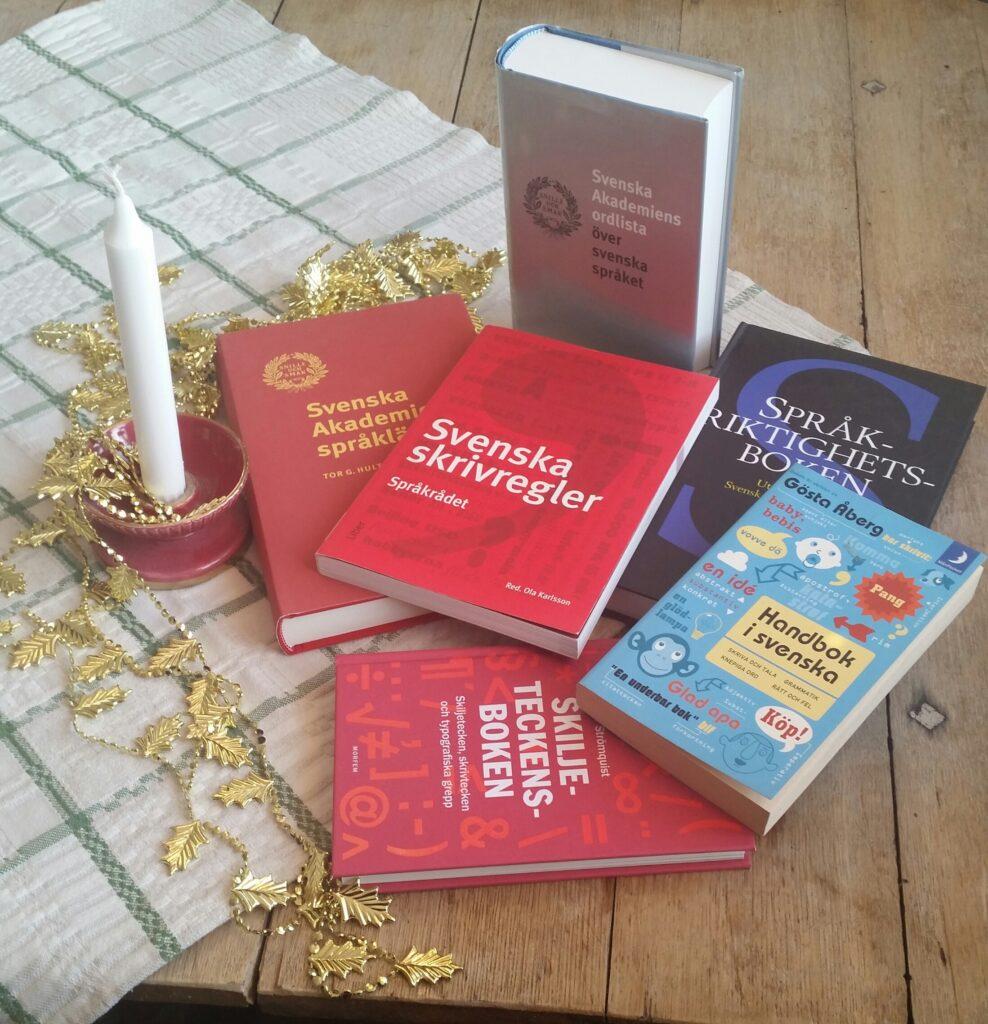 Böcker för språkriktighet