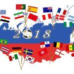 VM 2018 alla flaggor